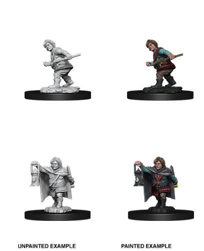 Male Halfling Rogue: D&D Nolzur's Marvelous Unpainted Miniatures